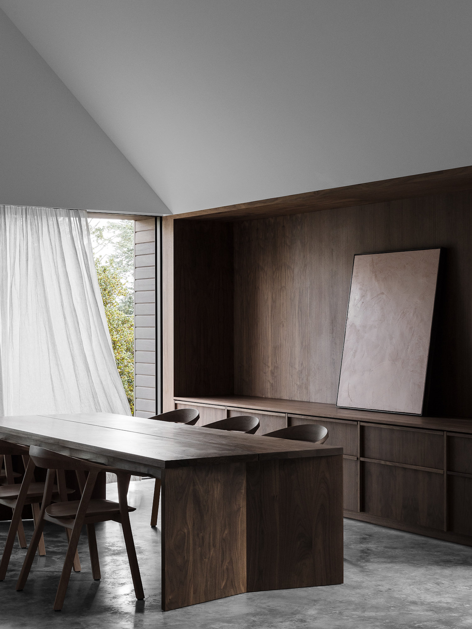 est living walnut house adam kane architects 8