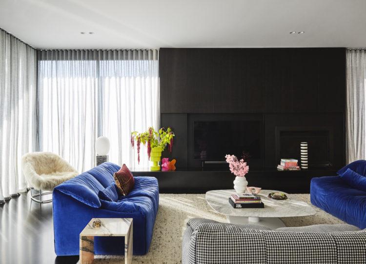 Living   Brighton Home by Charlotte Pittella