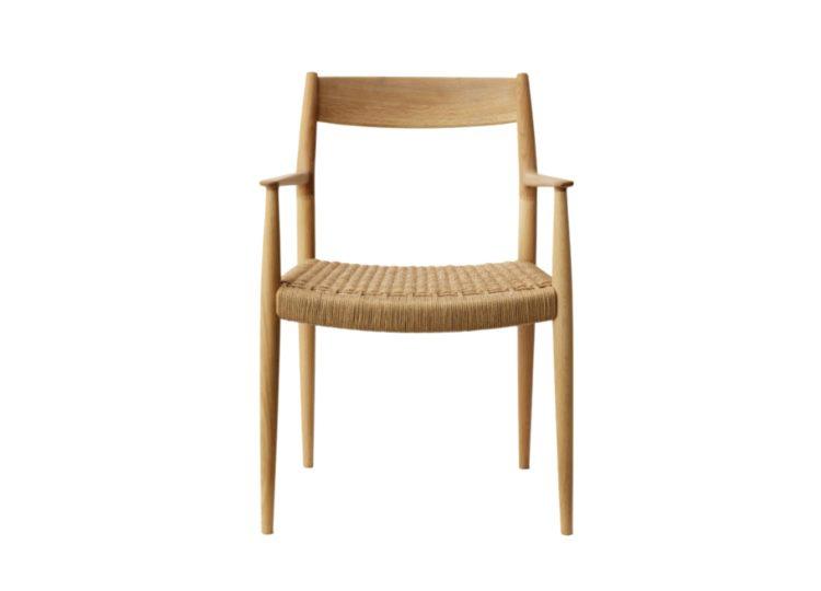 Karimoku Case Study Kinuta Dining Armchair (N-DC01) – Paper Cord