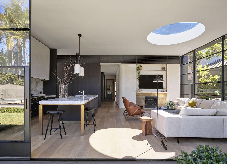 est living bellevue hill house pohio adams architects 07