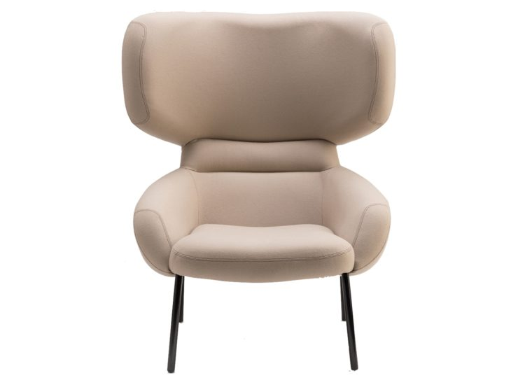 Didier Apparel Wingback Chair