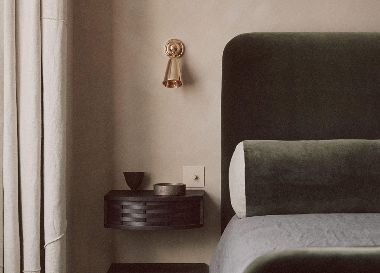 est living earthen tones bedroom 2