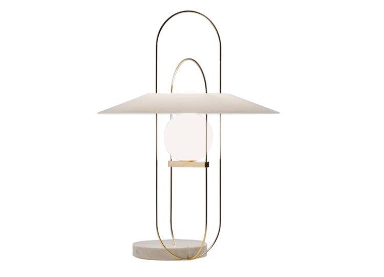Fontana Arte Serateh Table Lamp 4384 / 4381