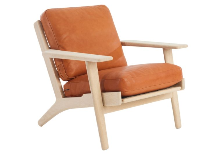 Great Dane Plank Chair Leather