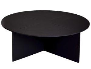 Elan Plus Cross Round Coffee Table