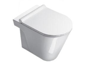 Catalano Zero 55 Floor Mount Toilet Pan with Slim Seat